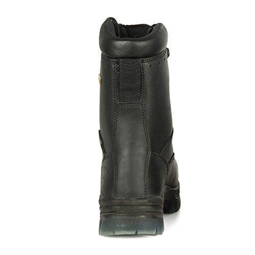 Oliver 45 Serie 15,2 Cm Komposit Stahlkappe Stiefel Leder (45.633 C), 45680c-blk-120