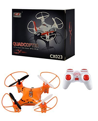 Ionic 6-Axis Gyroscope 2.4 GHz Remote Control RC Quadcopter (Orange) (Quadcopter Remote Control compare prices)