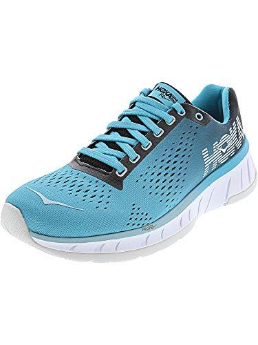 HOKA ONE ONE Women's Cavu Running Shoe Black/Bluebird Size 8 M US