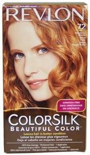 COLORSILK Haircolor # 72 Strawberry Blonde 7R by Revlon ...