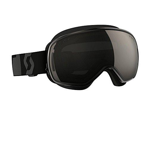 Scott LCG With Mask Men's Snocross Snowmobile Goggles Eyewear - Black Solar/Black Chrome/One Size by Scott Sports