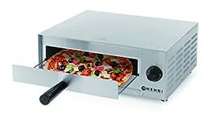 Hendi 220306 Horno para Pizza, de Acero Inoxidable