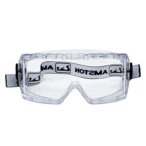 AMSTON Safety Goggles ANSI Z87.1 - OSHA Standards - Personal Protective Equipment for Construction, DIY, Lab & Home ... (SG80)