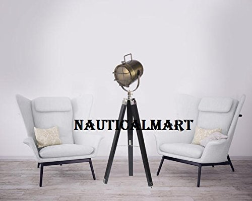 Nauticalmart Industrial Movie Cinema Style Corner Searchlight