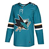 San Jose Sharks Adidas NHL Men's Climalite Authentic Team Hockey Jersey 50/M