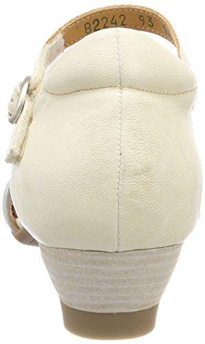 Correa Zapatos Aida Blanco ivory Para kombi 282242 93 De Con Tacon Think Tobillo Mujer Y Eq4YFAax