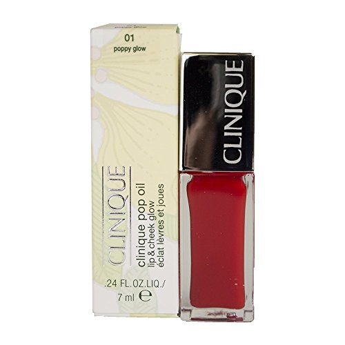 Clinique Pop Oil Lip & Cheek Glow - 01 Poppy Glow, 0.24floz/7ml by Clinique