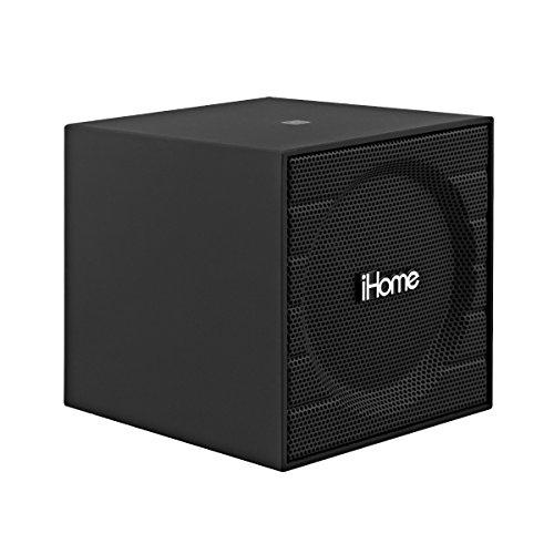iHome Bluetooth Rechargeable Mini Speaker Cube - Black (1st Version) iBT16GC