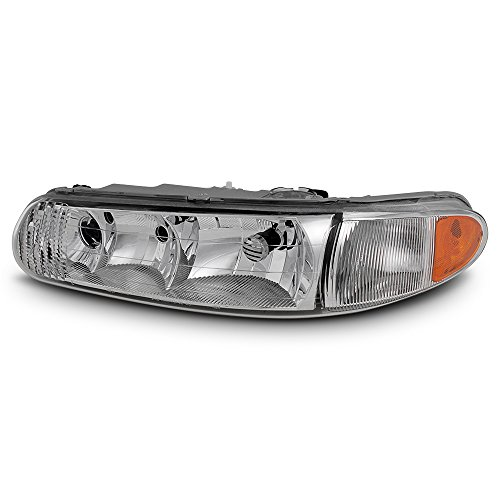 ACANII - For 1997-2005 Buick Century 97-2004 Regal Replacement Headlight Headlamp - Driver Side Only