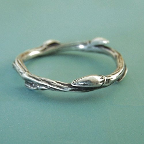 Sterling Silver Twig Ring - Willow