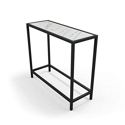 jd by James JKTAB672-FA Aria Console Table, Black (Table Kitchen Aria)