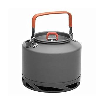 Wärmetauscher Kessel Camping-Tee-Topf im Freien Kaffee Kettle 0.8 ...