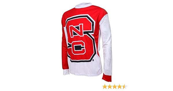 NCAA Northwestern Wildcats Long Sleeve Performance BMX Jersey Boys