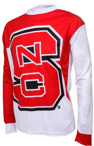 NCAA North Carolina State Wolfpack Mountain Bike Cycling Jersey (Team, Large)