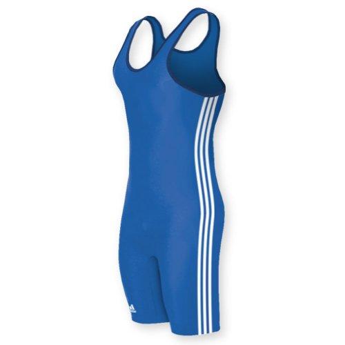 Wrestling Make Singlet A - adidas aS102s Men's Wrestling 3-Stripe Singlet