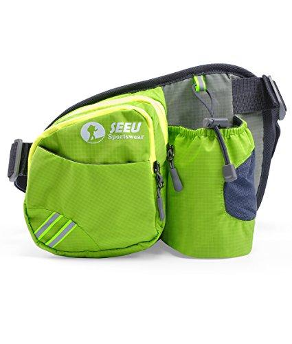 nny Pack, Lightweight Waist Bag Hip Bag with Water Bottle Holder ()