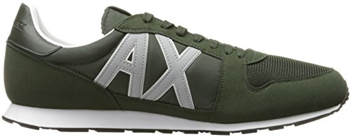 A X Men Running Dark Moss Retro Exchange Sneaker Fashion Armani Sneaker rRrqxf6