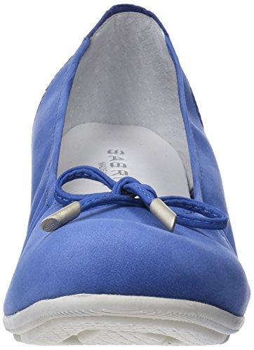 Sabrinas Damen City Geschlossene Ballerinas Blau (Blue 002)