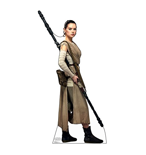 Advanced Graphics Rey Life Size Cardboard Cutout Standup - Star Wars Episode VII: The Force Awakens -