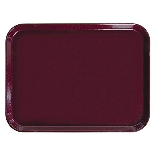Cambro 1520522 Camtray, burgundy wine, rectangular, 15