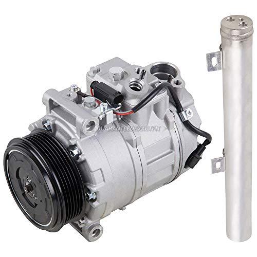Benz Ac Compressor Mercedes (AC Compressor w/A/C Drier For Mercedes E320 & E500 - BuyAutoParts 60-86363R2 New)