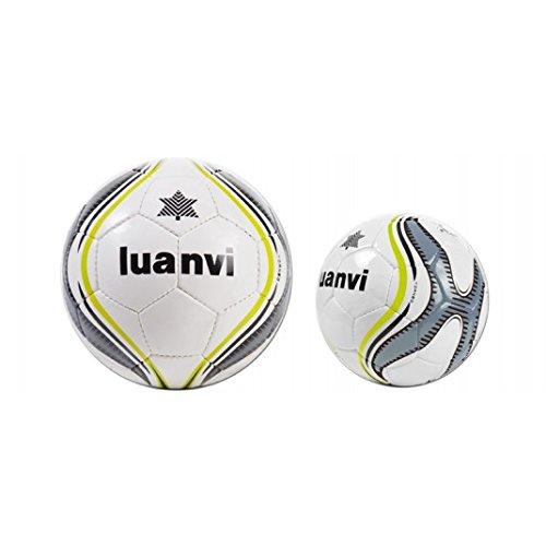 Luanvi - Balón Torneo Fútbol Sala, Talla 62, color gris: Amazon.es ...