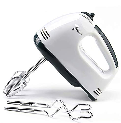 Best Hand Mixer Electric Whisk,7-Speed Hand Mixer electric with Turbo Handheld Kitchen Mixer Electeic Beaters,Stainless…