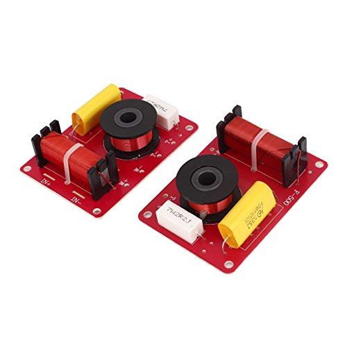 Trim Crossover (uxcell 2 Pcs 130W 2-Way Speaker System Audio Crossover Filters Frequency Distributor)