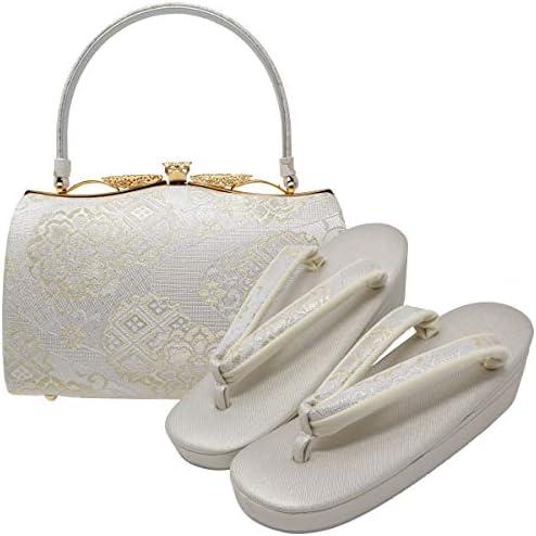 草履バッグセット 留袖 礼装用 M/Lサイズ 紗織 沙織 03 和物屋