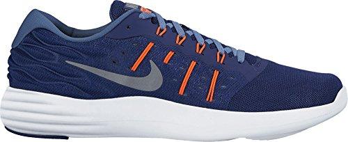 Nike Heren Lunarstelos Loopschoen Trouwe Blauw / Cool Grijs / Oceaan Mist