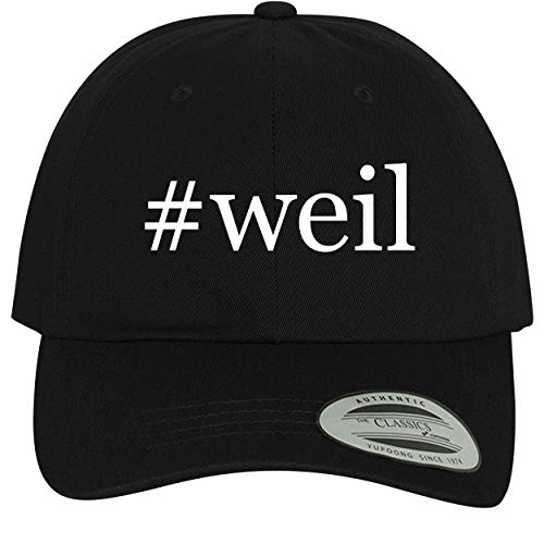 (BH Cool Designs #Weil - Comfortable Dad Hat Baseball Cap, Black)