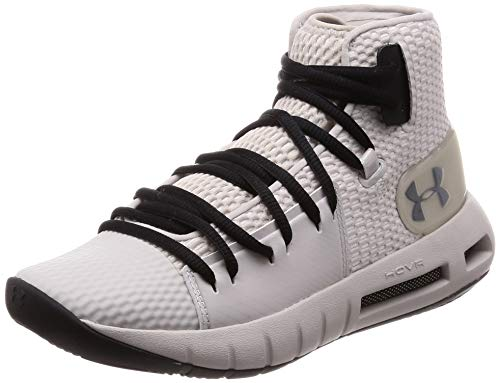 Under Armour Men's Drive 5 Basketball Shoe, (101)/Ghost Gray, 13]()