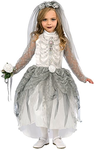 Bride Halloween Costumes (Forum Novelties Skeleton Bride Costume, Medium)