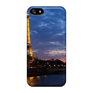 Awesome Design Eiffel Tower City Landscape Hard Case Cover For Iphone 5/5s by lolosakes