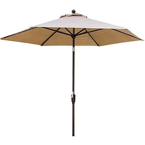 Hanover Traditions 11' Market Umbrella Natural Oat TRADUMB-11