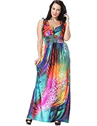 plus size maxi dress 4x vs 8x