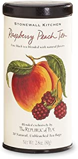 product image for Stonewall Kitchen Raspberry Peach Tea, 2.8 oz