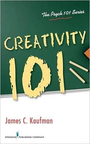 amazon creativity 101 the psych 101 james c kaufman