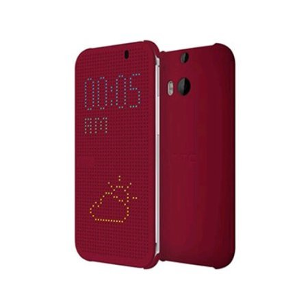 HTC Dot View Case for HTC One (M8) - Retail Packaging - Baton Rouge