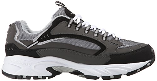 Skechers Go Walk 3 charge - Zapatillas Hombre Charcoal Cutback