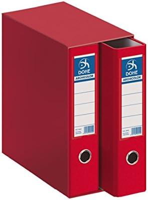 Dohe Archicolor - Módulo 2 archivadores, folio lomo ancho, color ...