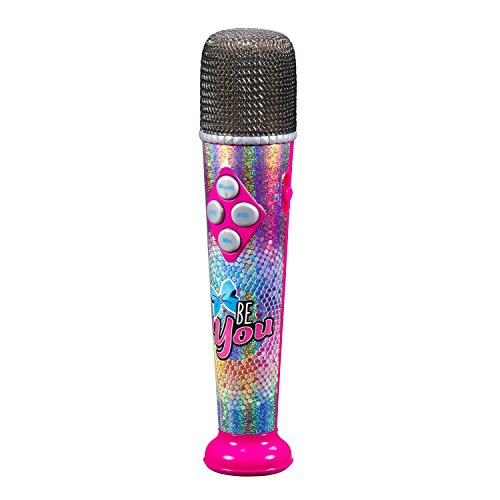 Jojo Siwa Sing Along MP3 Microphone with Built in Speaker Sing to The Built in Song or Connect to Your MP3 Player and Sing to Whatever You Like with The Real Working MIc by eKids (Image #1)