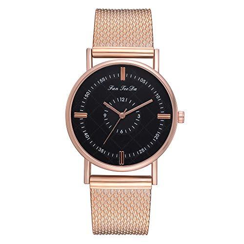 Sttech1 Men's Quartz Belt Watch Leather Band Analog Sport Quartz Wrist Watch (D)