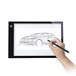 L-Fine A3 Tracing LED Light Pad Box(14.6x18.5 Inches) with Adjustable Light Intensity for Artists,Drawing, Sketching, Animation