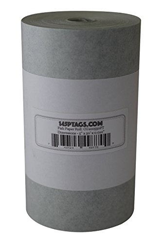145P Tags CG100550FT Electrical Insulating Fish Paper, 5