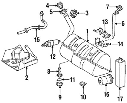 Genuine Mercedes-Benz Fuel Strainer 129-470-02-06