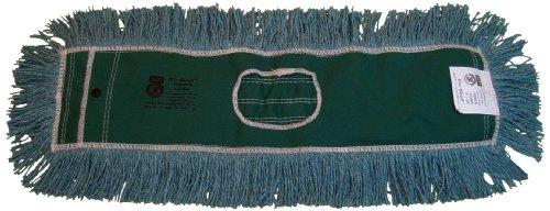 Zephyr 12464 Pro-Blend Green Dust Mop Head, 36'' Length x 5'' Width (Pack of 6) by Zephyr