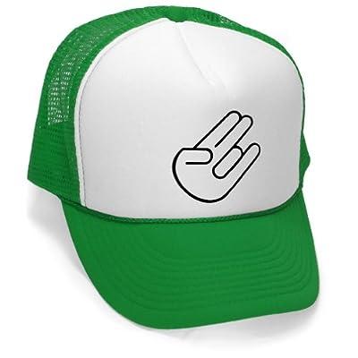 Megashirtz - The Shocker - Vintage Style Trucker Hat Retro Mesh Cap