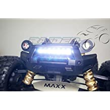 Front Bumper LED Lamp Lighting System ( White ) for 1/5 Traxxas 6S 8S X-MAXX XMAXX 77076-4