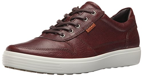 ECCO Men's Soft 7 Retro Fashion Sneaker, Whisky/Lion, 44 EU/10-10.5 M US